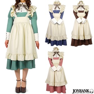 8mm Country Long Maid Long Sleeve Cosplay Costume Ladies Size L Costume