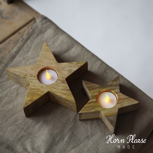 A/W Candle Holder Star