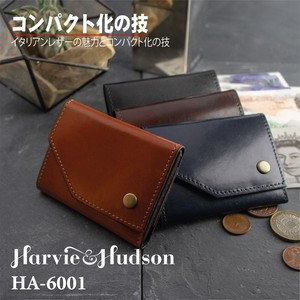 Ki Leather Three Compact Wallet