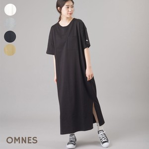 Heavy Weight Pocket T-shirt One-piece Dress