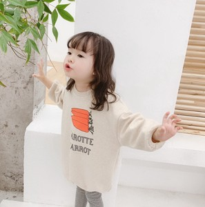 Kids Girl Long Print Casual
