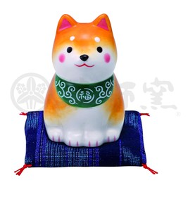 Japanese summer features Ornament Interior Dog Weather Sitting Shiba Dog