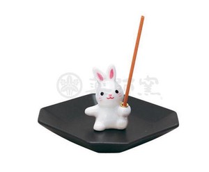 Happiness Ornament Interior Incense stand Rabbit