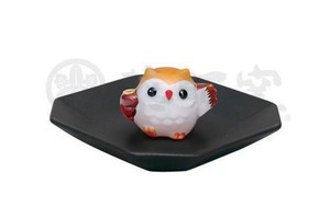 Happiness Ornament Interior Incense stand Owl