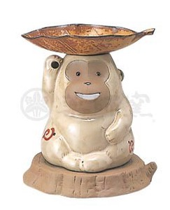 Happiness Ornament Interior Ceramics Incense Burner