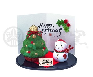 Happiness Ornament Interior Kinsai Crape Tree Set Snowman