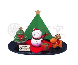 Happiness Ornament Interior Kinsai Christmas Decoration
