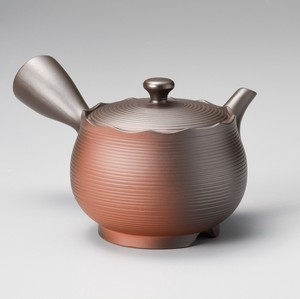 TOKONAME ware Kiln Change Frill Japanese Tea Pot