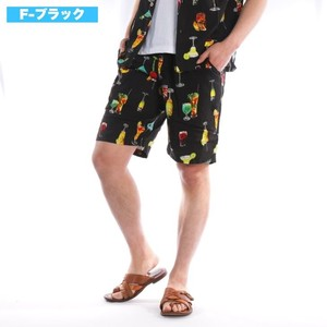 [2019NewItem] Rayon Aloha Shor Pants Suit Set Shorts