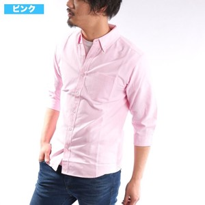 [2019NewItem] Ford Three-Quarter Length Shirt Button Down Shirt Casual Shirt