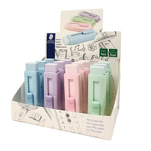 Pastel Color Holder Eraser Set
