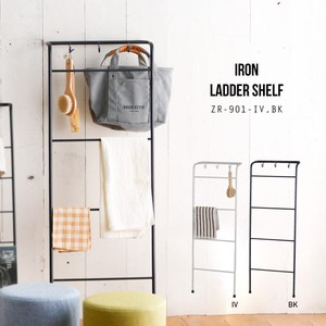 Design Wall Hanging Product Storage Iron Ladder Shelf