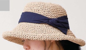 Prevention Countermeasure Hand Knitting Ribbon Paper Hat
