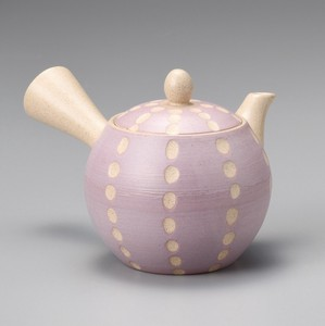 Steaming TOKONAME Ware Small Dot Purple Dot Japanese Tea Pot