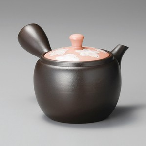 Steaming TOKONAME Ware Pink Japanese Tea Pot