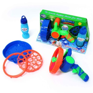 Toy Soap Bubble Bubble Machine 2 Colors Assort