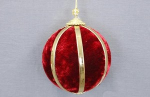 Velvet Ball Ornament