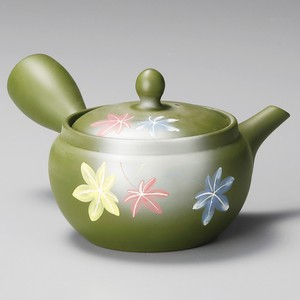 Japanese Tea Pot Fukumaru Autumn Colors Japanese Tea Pot