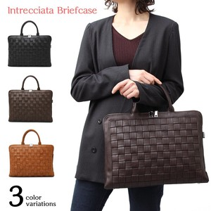 Leather Brief Case Included Business Bag