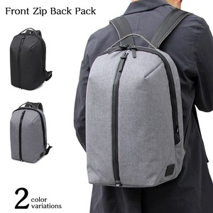 Nylon Front Backpack Backpack Large capacity