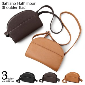 Leather Half Moon Bag Shoulder Bag