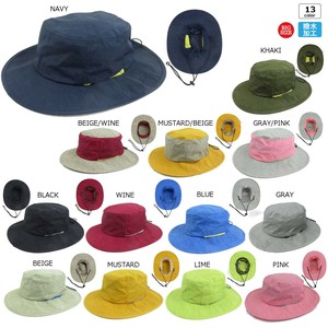 Size L Big Water-Repellent Dyeing Adventure Hat