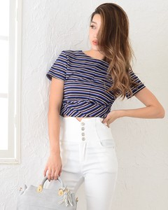 Appreciation Multi Border Front T-shirt Top T-shirt