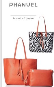 Purse ZEBRA Plain Reversible A4 Tote Bag ,Polyester Bag
