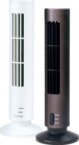 Slim Fan White Black 2 Colors Assort