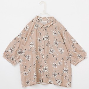 S/S peniphass Flower Repeating Pattern Blouse