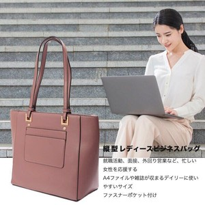 Business Commuting Route Bag Large capacity Ladies Pouch Attached Tote Bag