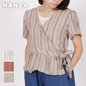 Carry S/S Random Stripe Blouse