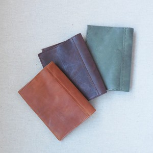 Puzzle Book Cover Paperback Genuine Leather Leather