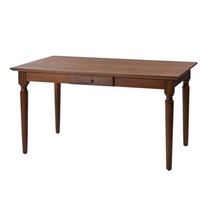 Cheek Powder Solid Wood Dining Table Sten Board Attached