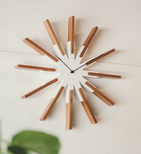 Wall Clock Wall Clock Natural Art Design