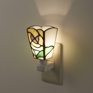 Sten Glass Foot Lamp Pansy
