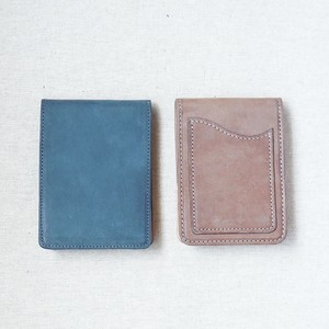 Oil Wax Leather Memo pad Genuine Leather