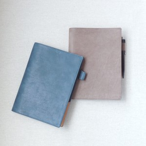 Oil Wax Leather Notebook Cover Genuine Leather