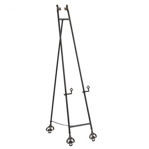 Iron Easel Decoration Menu Stand Up Tripod