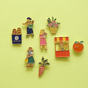 2Pcs set pin Badge