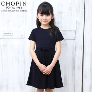 Toddler Girl Formal Short Sleeve One-piece Dress