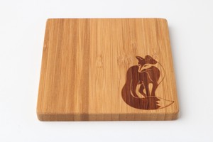 Natural Material Tint Natural Coaster Fox
