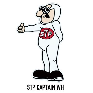 STICKER【STP CAPTAIN WH】ステッカー アメリカン雑貨