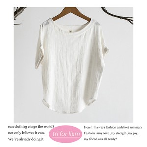 Color Thin Material Blouse