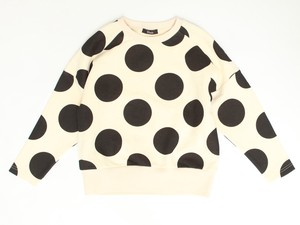 A/W Dot Drop Shoulder Sweatshirt