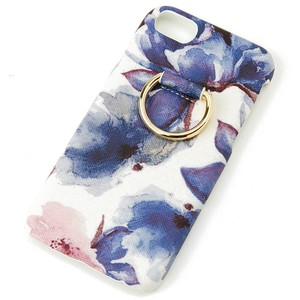 Watercolor flower Back type iPhone Case Broom Ladies iPhone6 iPhone7 iPhone