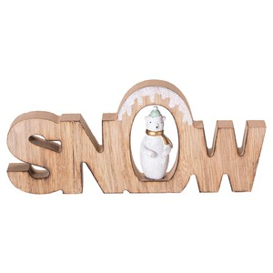 Snow Bear Objects Objects Christmas Display Ornament