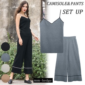 For Summer Camisole Pants Suit Set