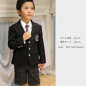 Outlet Metal Button Boy Suit Set