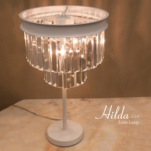 Crystal Table Lamp Lightning Type